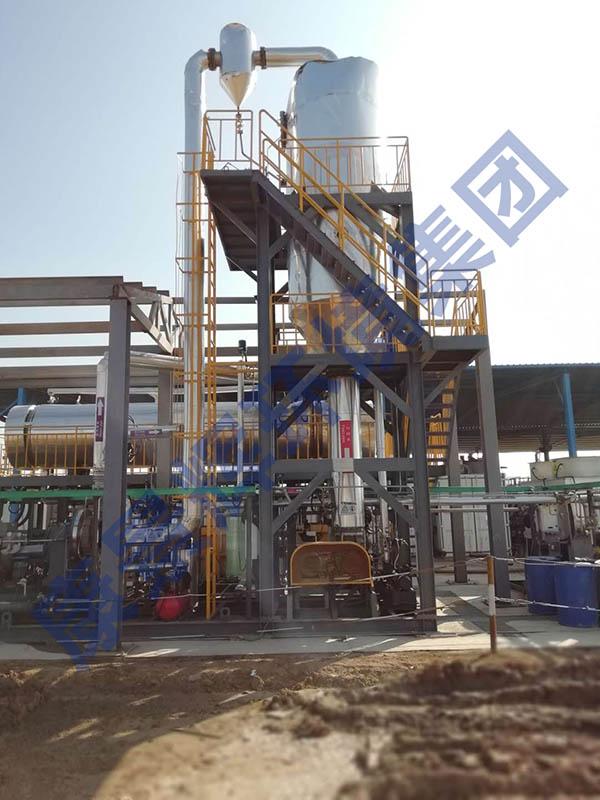 MVR蒸发器试运行项目现场