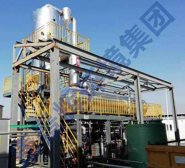 MVR蒸发器试运行项目