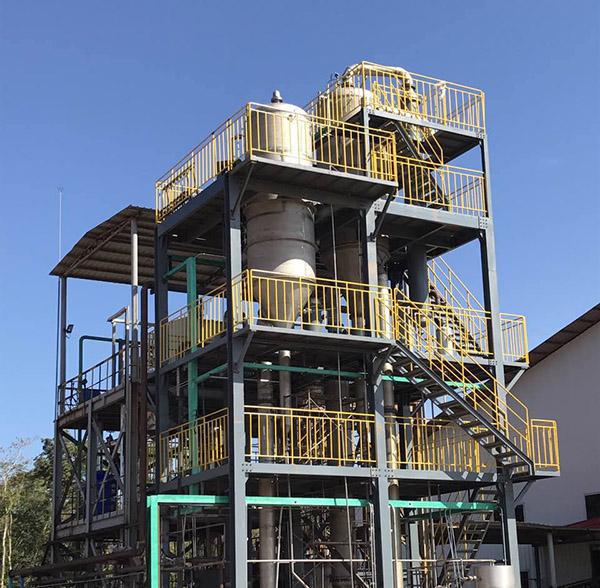 化工废水处理双效蒸发器