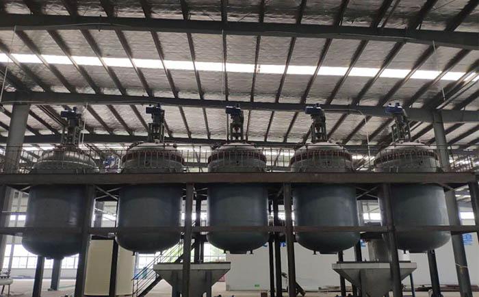 废旧电池回收行业废水处理反应釜