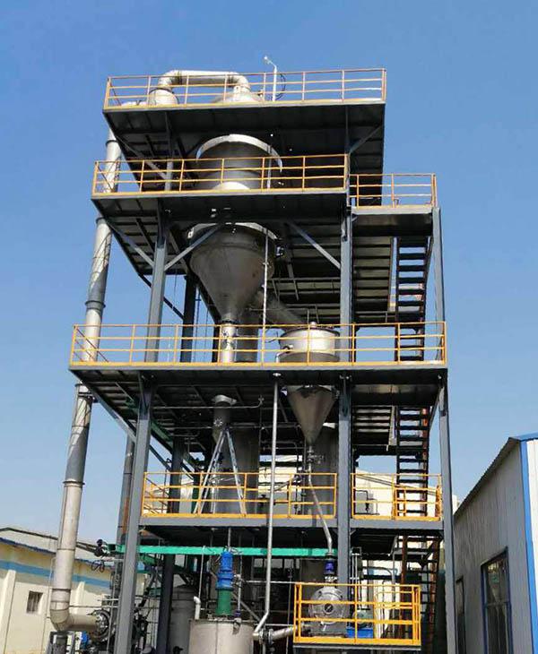 硫酸钠mvr蒸发器安装现场