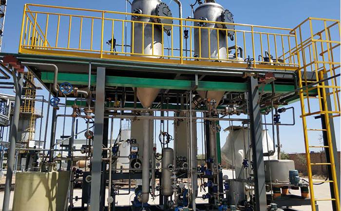 炼油废水处理案例安装现场.jpg