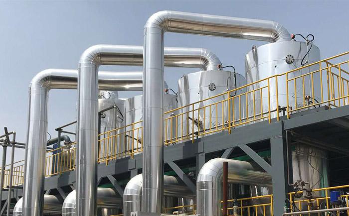 高盐废水蒸发结晶多效蒸发工艺