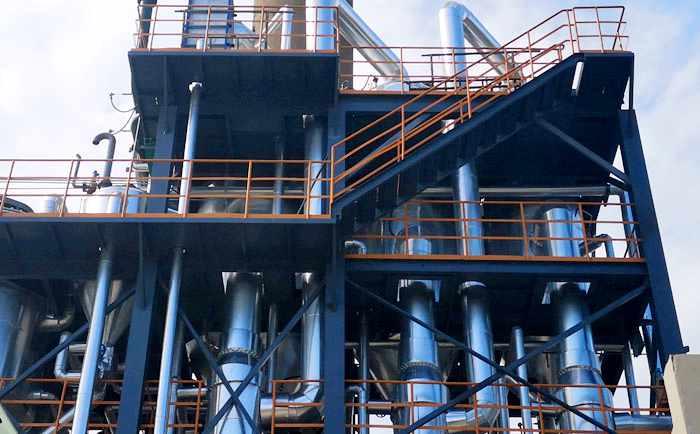 高盐废水蒸发结晶器