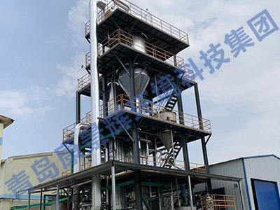 河南MVR蒸发器安装现场