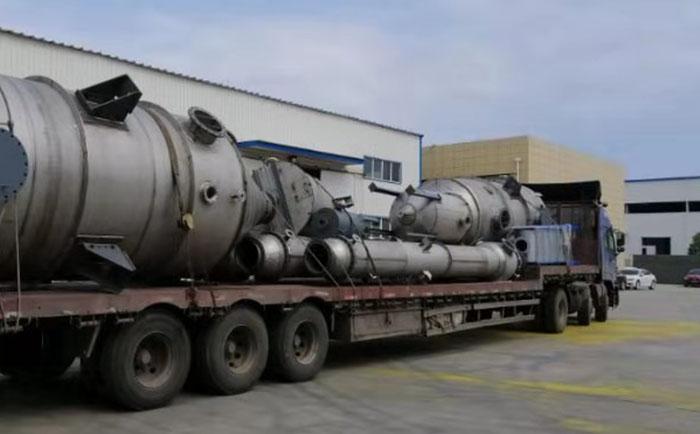 氢氧化钠蒸发器发货