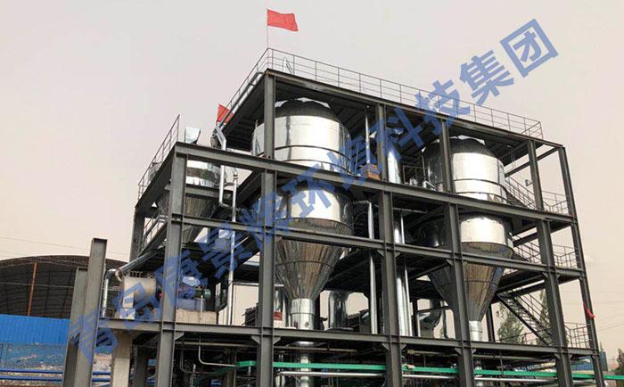 MVR强制循环蒸发设备