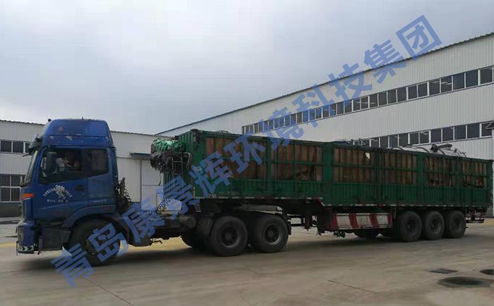三效蒸发器结晶设备发货现场