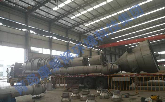 双效MVR蒸发器发货现场