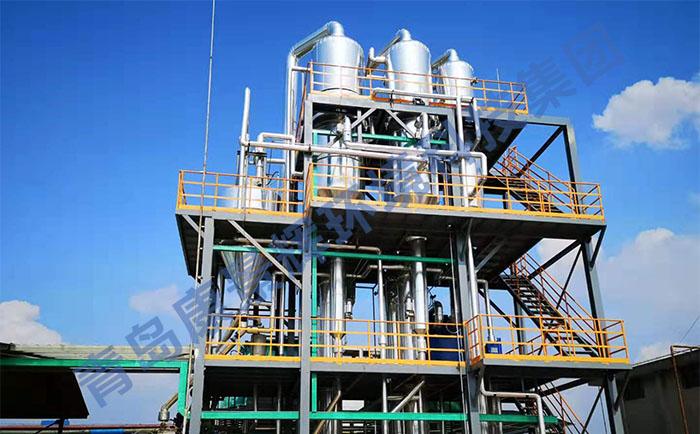 三效蒸发器处理高含盐废水