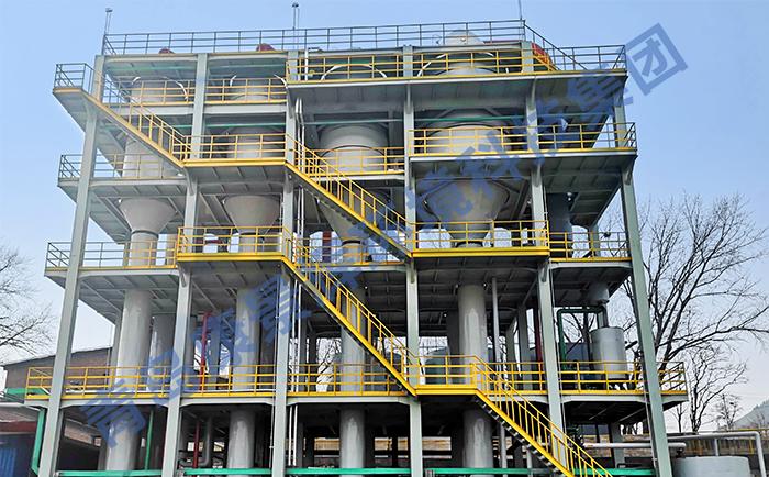 硅胶废水处理四效蒸发器项目