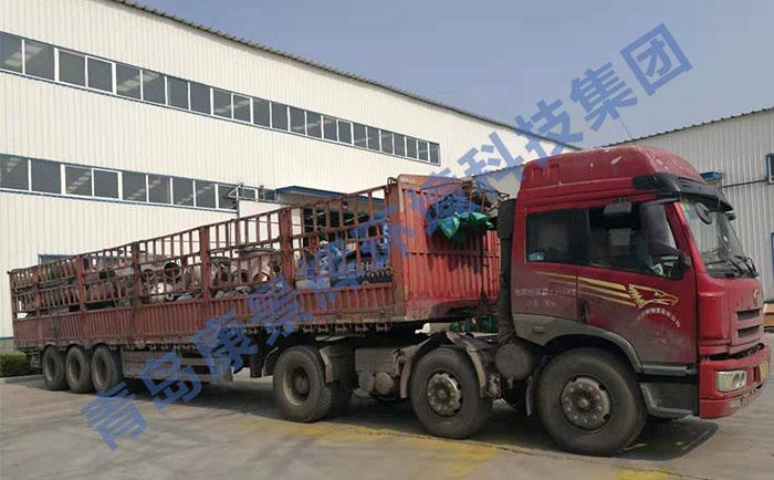 颜料废水蒸发器发货现场